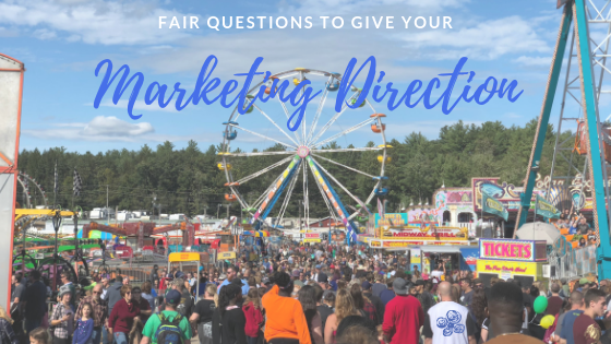 fair questions to give your marketing direction